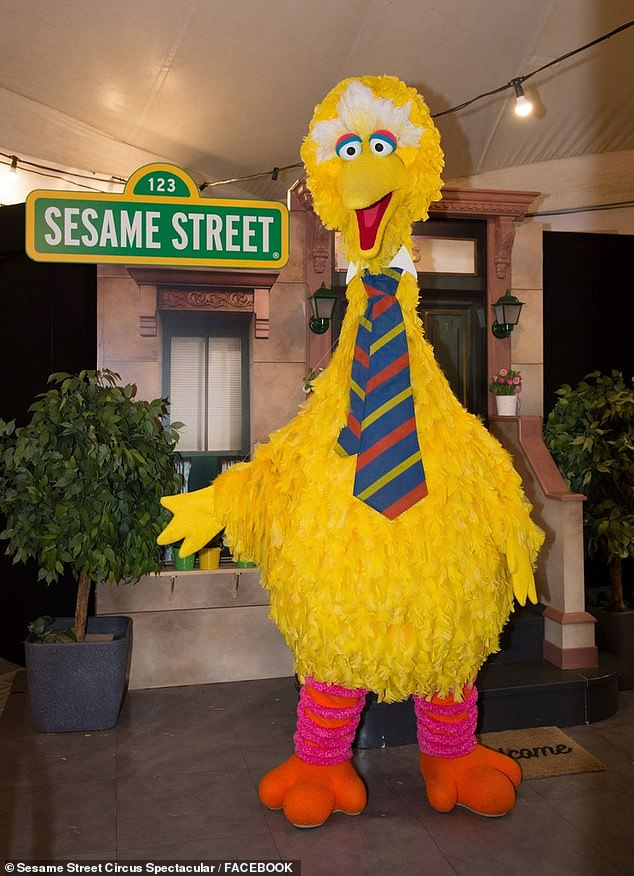 The Sesame Street Circus Spectacular was forced to withdraw Big Bird (pictured) from its popular production following the theft of the bird's costume