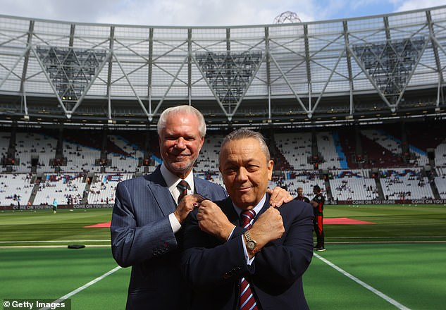 The West Ham (pic, owners David Gold and David Sullivan) board will be present in the meeting