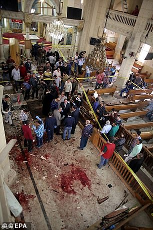ISIS bomb attack on a church in Cairo