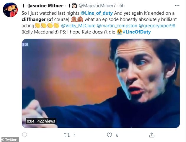 Nail-biting: Soon after the show aired, Twitter was flooded with wild reaction from fans, who demanded bosses show the next episode now, as the suspense was too much to wait another week to see the outcome of the shoot off