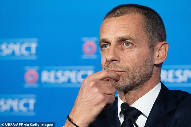 UEFA president Aleksander Ceferin described the league's architects as 'liars' and 'snakes'