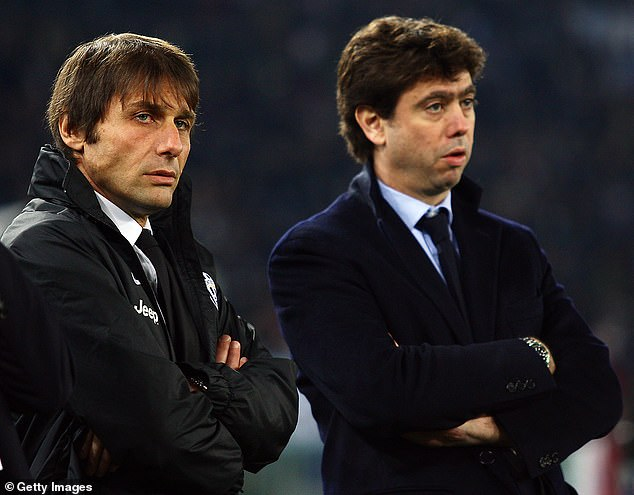 The Slovenian called Juventus president Andrea Agnelli 'the biggest disappointment of all'