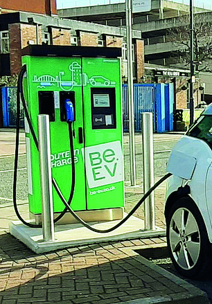 Investment offer: The 50 new chargers funded by the green bond will be operated under the Be.EV brand
