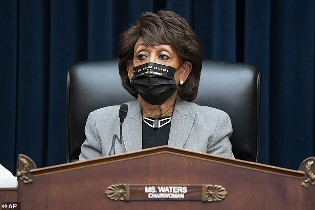 Rep. Maxine Waters was on Capitol Hill Tuesday presiding over theHouse Financial Services Committee amid growing Republican anger at her comments on the Derek Chauvin case