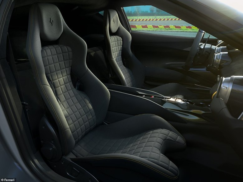 It will also be lighter than the standard 812 Superfast thanks to extensive use of carbon fibre, both on the exterior and in this beautifully crafted cockpit