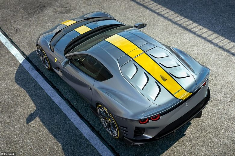 The Ferrari with no name: This is the Italian marque's latest special edition model that's official name is being kept under wraps for another fortnight