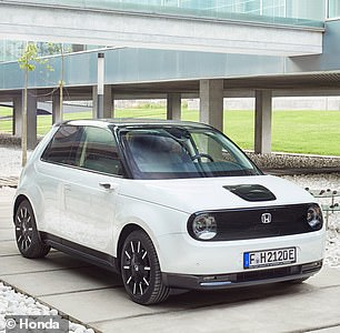 Honda's compact 'e' electric vehicle won Urban Car of the Year