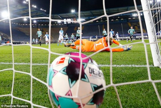 The German giant dropped out on Tuesday night after a defeat by Arminia Bielefeld