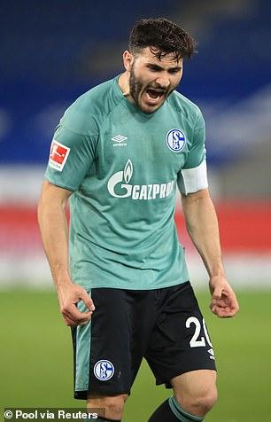 His artillery teammate Sead Kolašinac also joined on loan
