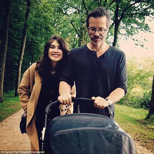 Fatherhood: Guy Pearce admitted this week that having a