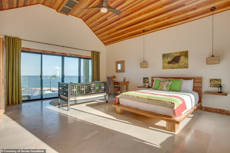 All of the lodges boast sublime sea views and feature a blend of traditional and contemporary furnishings