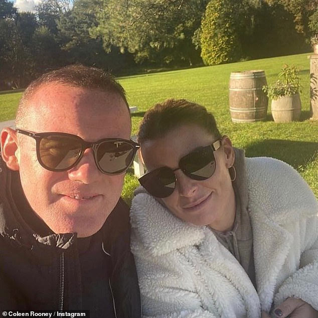 Time's running out!Coleen, 34, now has until 4.30pm on Friday to present evidence to oppose the striking out, and Rebekah, 39, will then get a chance to serve a reply to Coleen's evidence documents (Coleen pictured with husband Wayne)