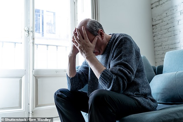 The results showed that people who mostly used the intenet to search for health-related information reported higher levels of depression (stock image)