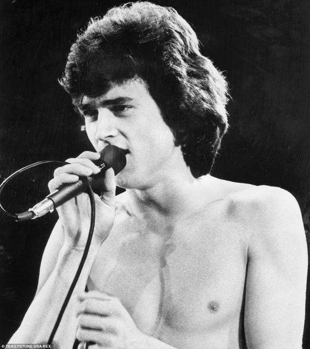 Bay City Rollers singer Les McKeown (pictured in 1977) has died at his home suddenly at the age of 65, his family announced today