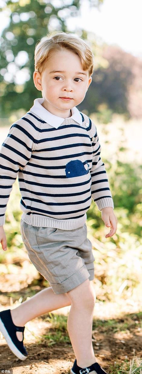 Prince George at age three