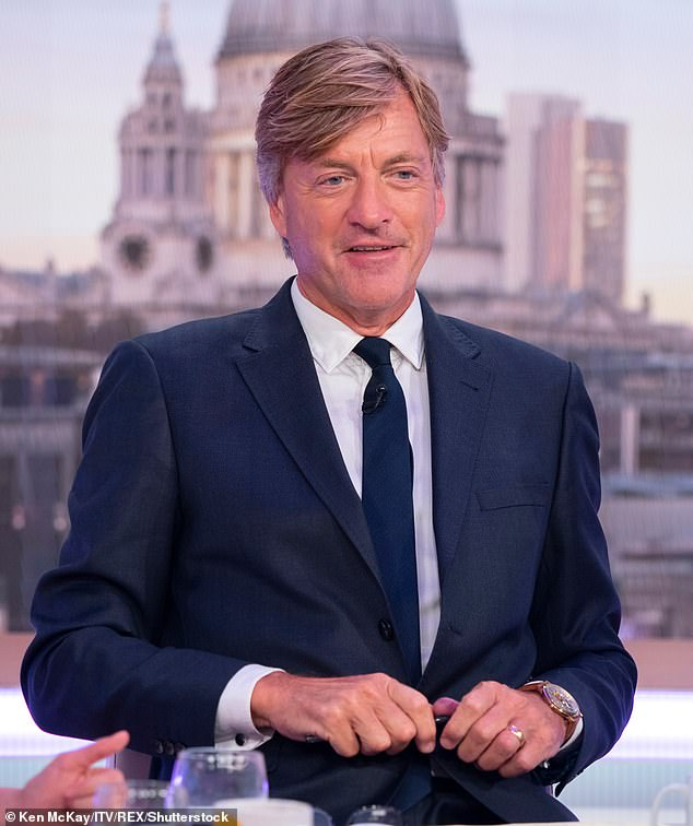 New job:Richard Madeley is reportedly being lined up to replace Piers Morgan on Good Morning Britain (pictured guest-hosting the show in 2018)