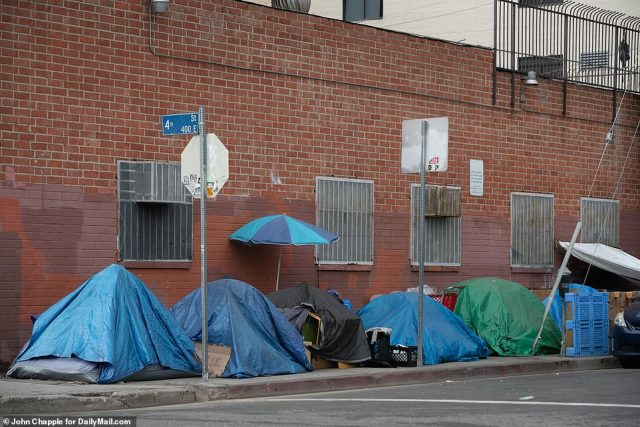 The plan does require $1 billion to be placed in escrow although it's unclear what would happen to those funds if the Skid Row population isn't offered housing by the deadline