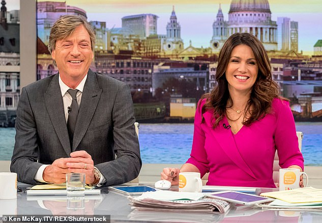 I'd do it!It comes after Richard said he'd be 'bonkers' not to accept the chance to fill Piers' seat on the show, adding he doesn't give a 'f**k' about being trolled for his views (pictured in 2018)