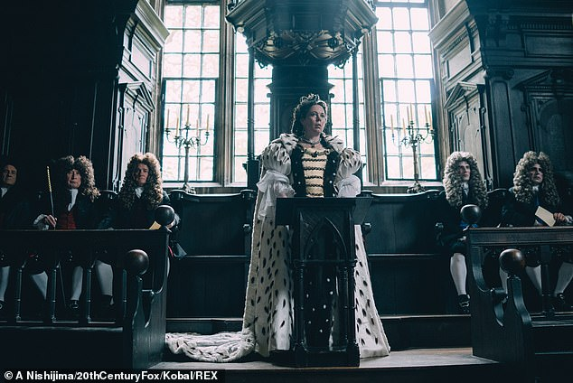 Award winner: After Olivia's last theatre role in 2017, her career sky rocketed as she starred as Queen Anne in The Favourite, which would see her claim the Best Actress Oscar