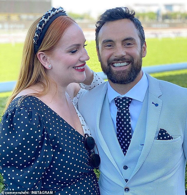 'What a difference a wife can make': Former Married At First Sight star Cameron Merchant revealed his drivers license photos before and after meeting Jules Robinson in an Instagram post on this week