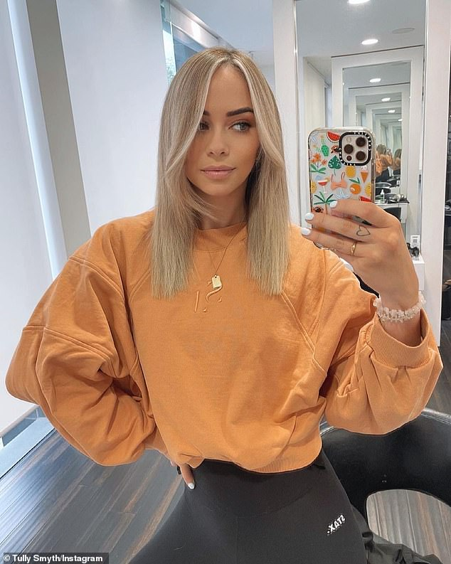 Busted: A spelling gaffe has landed Tully Smyth on a copycat account of popular Instagram page Celeb Spellcheck