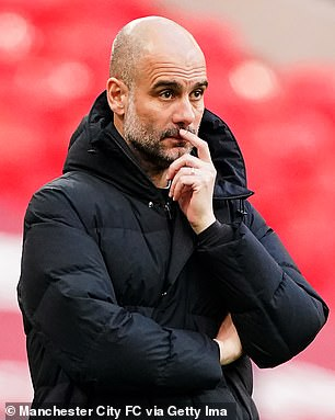 Pep Guardiola is looking for a replacement for Sergio Aguero