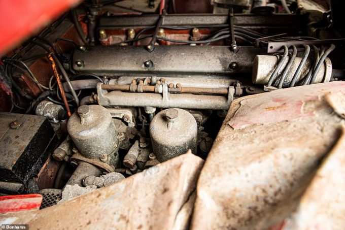 No attempt has been made to start the engine since the crash in 1996. Given the rarity of the model, a full restoration could provide more than a healthy financial return for the new owner