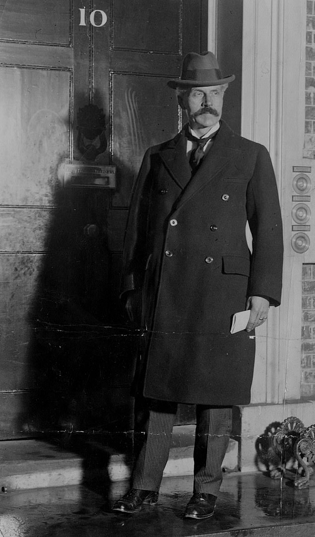 Labour's rise was extraordinarily swift. In less than 25 years, it had overtaken the Liberals to become one of the two great forces in British politics. In 1924, Ramsay MacDonald (above), the illegitimate son of a farm labourer and a housemaid, became its first prime minister