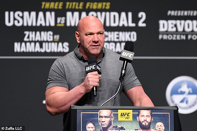 Dana White accused Jones of demanding a £20million fee in order to face off against Ngannou