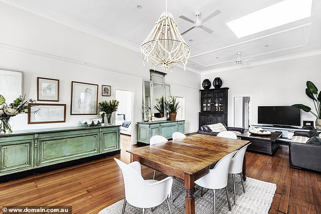 Amazing:High ceilings and original, antique features make it one of the most unique properties on the Sydney market