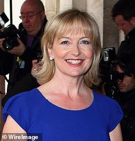 TV weather presenter Carol Kirkwood