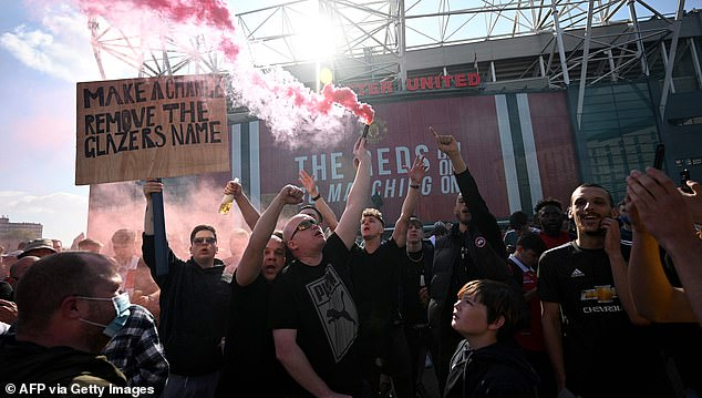 However, amid widespread backlash the Red Devils swiftly dropped out of the competition