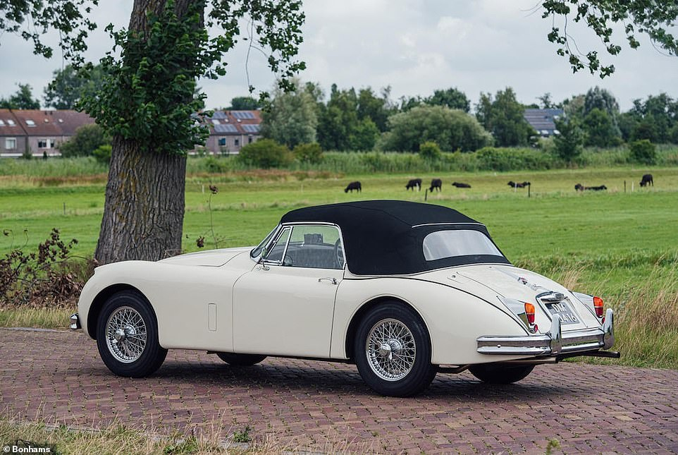 This very car was sold by Bonhams in September 2019. Like the mangled version up for grabs next month, it is one of just 69 RHD examples. It sold for a fee of £161,000