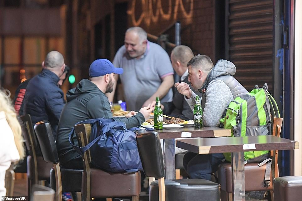 Britons packed out pub beer gardens and restaurants to celebrate the second weekend since lockdown restrictions eased.