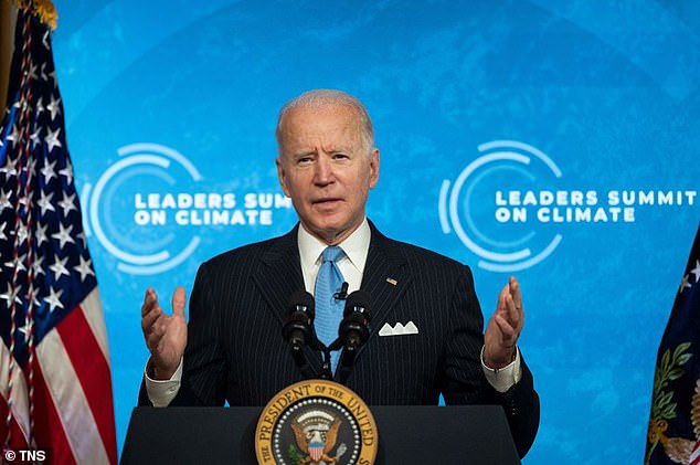 President Joe Biden is sitting at a 52% approval rating as he nears his 100th Day in office