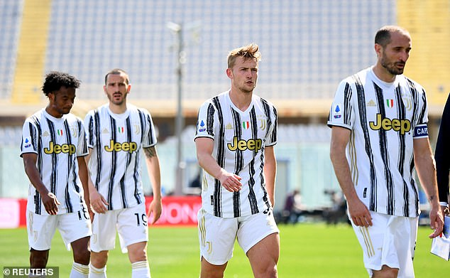 Juventus can drop out of the top-four should Atalanta and Napoli both win this weekend