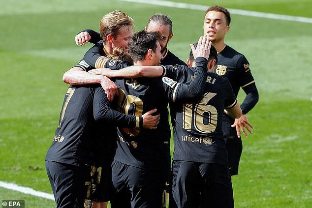 It was Barcelona who emerged victorious at Estadio de la Ceramica on Sunday afternoon