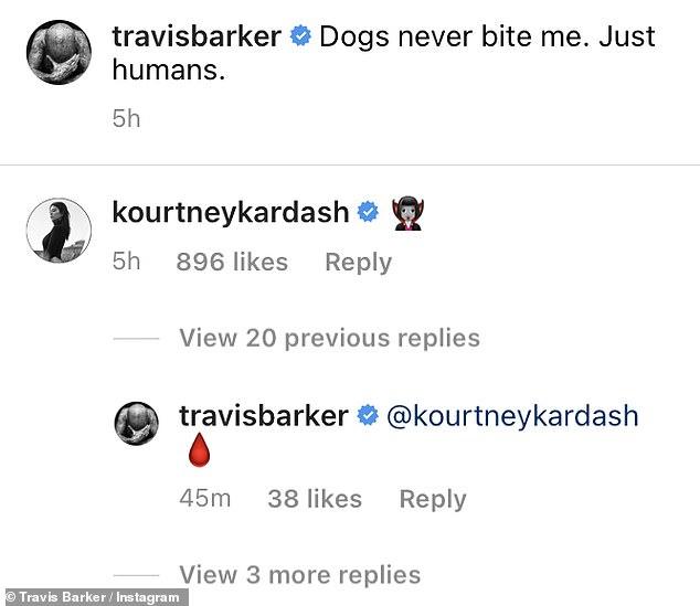 Kourtney Kardashian and Travis Barker continue their flirt ...