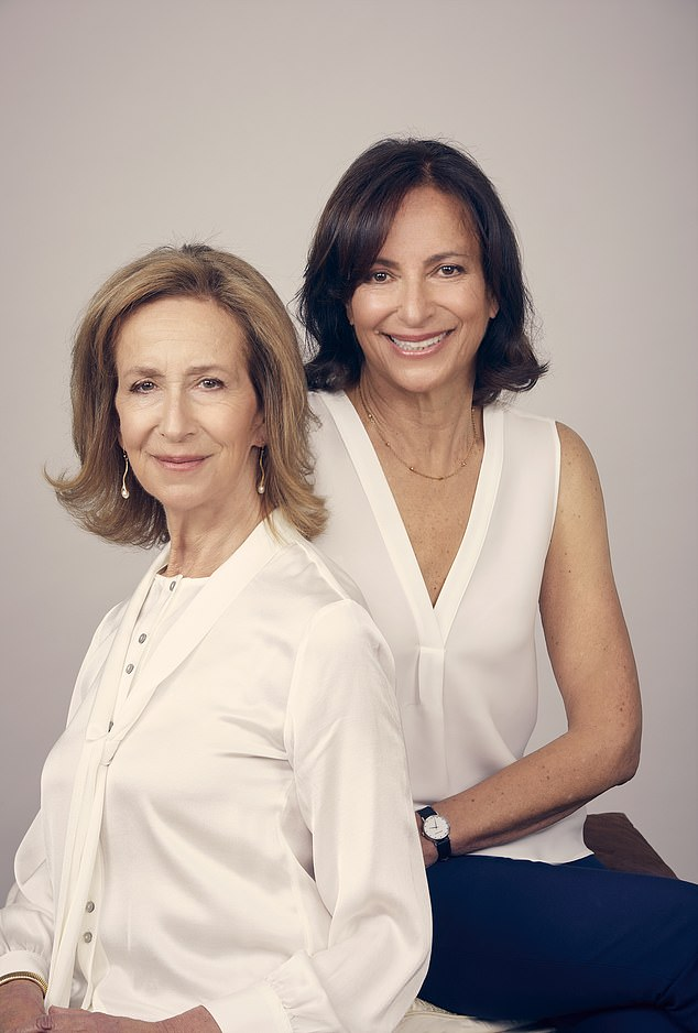 Linda Kelsey's (right) older sister Susan (left) had a lower face lift a decade ago when she was 61 years old
