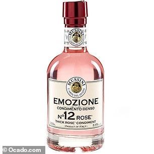 Mussini Rosé wine vinegar (£9.95, 250ml, ocado.com)