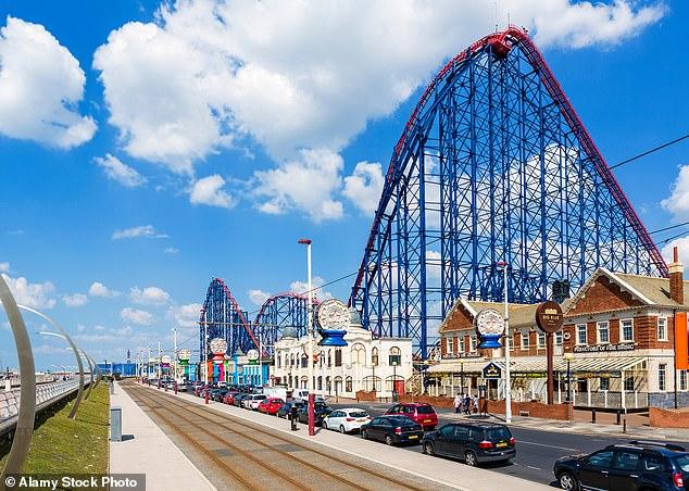 Blackpool Pleasure Beach reopened on April 12 as part of the easing of lockdown measures (file image)
