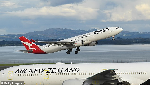 Of the 241 other Qantas passengers, 135 have so far tested negative, but more than a hundred others are still waiting on a result