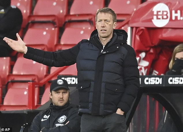 Graham Potter insisted the gap between them and their rivals is not yet sufficient