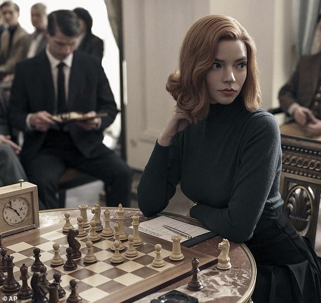 Star attraction: Anya Taylor-Joy in Netflix hit series The Queen's Gambit