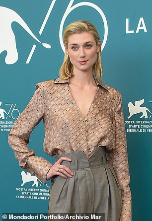 At an Amazonian 6ft 3in, Australian actress Elizabeth's height has been an issue with leading men