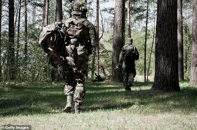 British Armed Forces personnel could switch to protecting the natural environment, such as rain forests