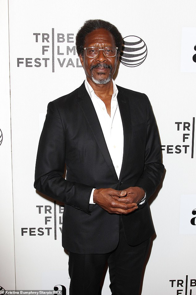Clarke Peters, pictured in New York in 2015, says we shouldn't be 'labelling' people based on their race