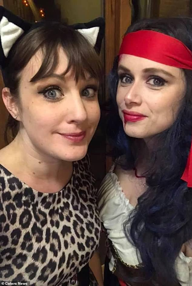 JJ (left), who is also a divorcee, admitted that her friends and family were 'confused' and 'worried' at the start, but she insisted that break-ups don't always involve 'hate'