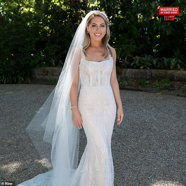Down down down:Jaimie Gardner (pictured) failed to find love the new season of Married At First Sight , and now she is struggling to sell off her wedding ring, too