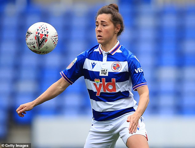 The Reading player will hang up her boots at the end of the season following a 20-year career